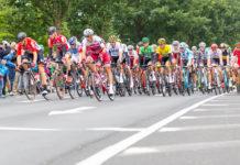 Geraint Thomas i gul trøye Tour de France